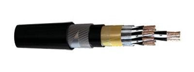 XLPE/OSCR/PVC/SWA/PVC