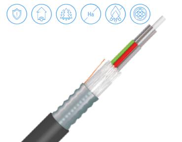 fire resistant fibre optic cable