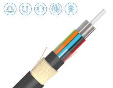 15 KN aerial optic cable