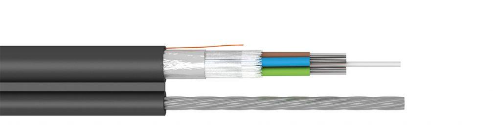 self-suporting fibre optic